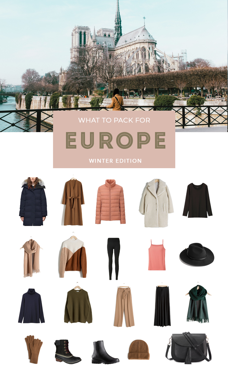 What to Pack for Winter in Europe - How to pack for winter in a carry on