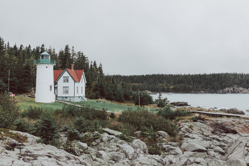 Little River Light House Cutler Maine
