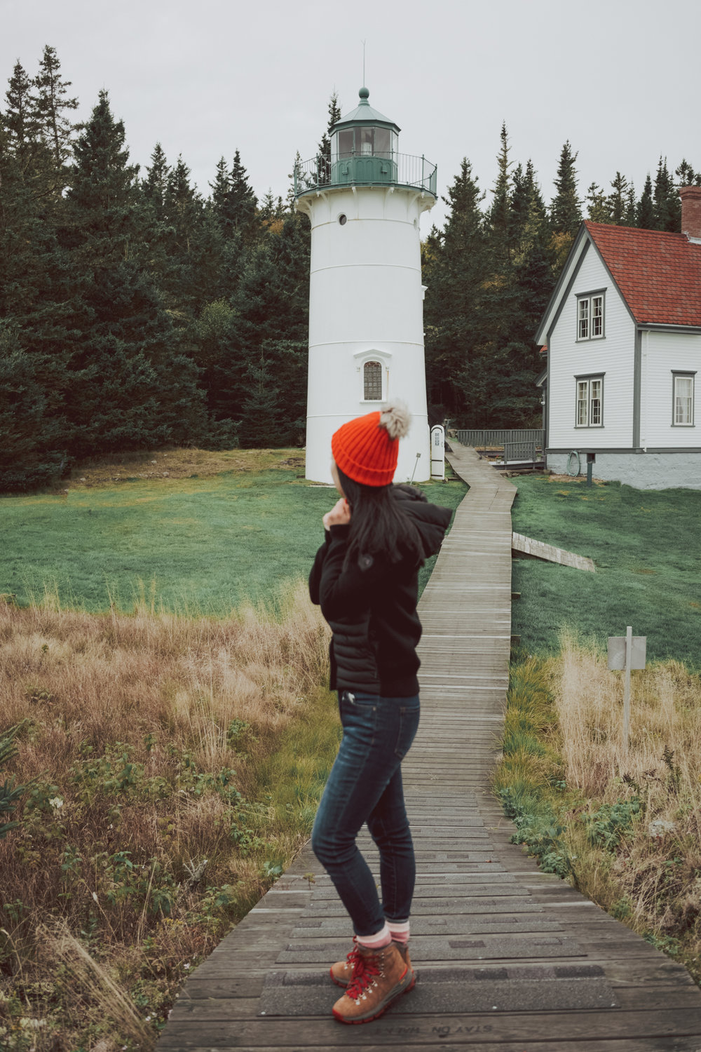Things to do in Maine road trip - explore the lighthouses and everything you need to know about #Maine