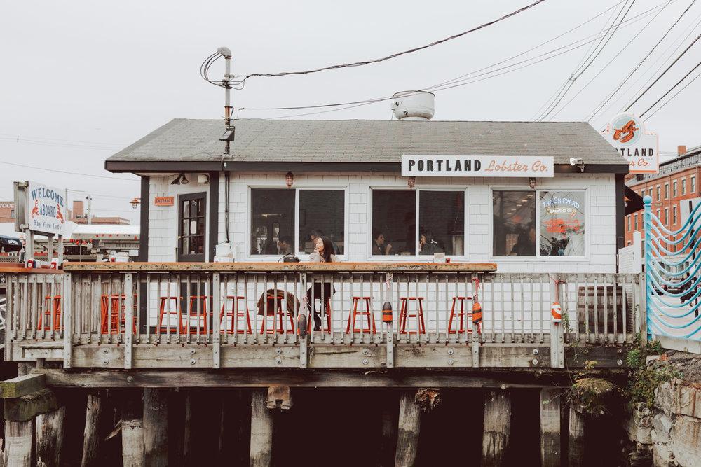 Portland Lobster Co. Portland Miane Best Lobster in Portland