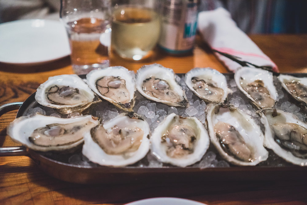 Where to eat in Portland Maine Eventide Oyster
