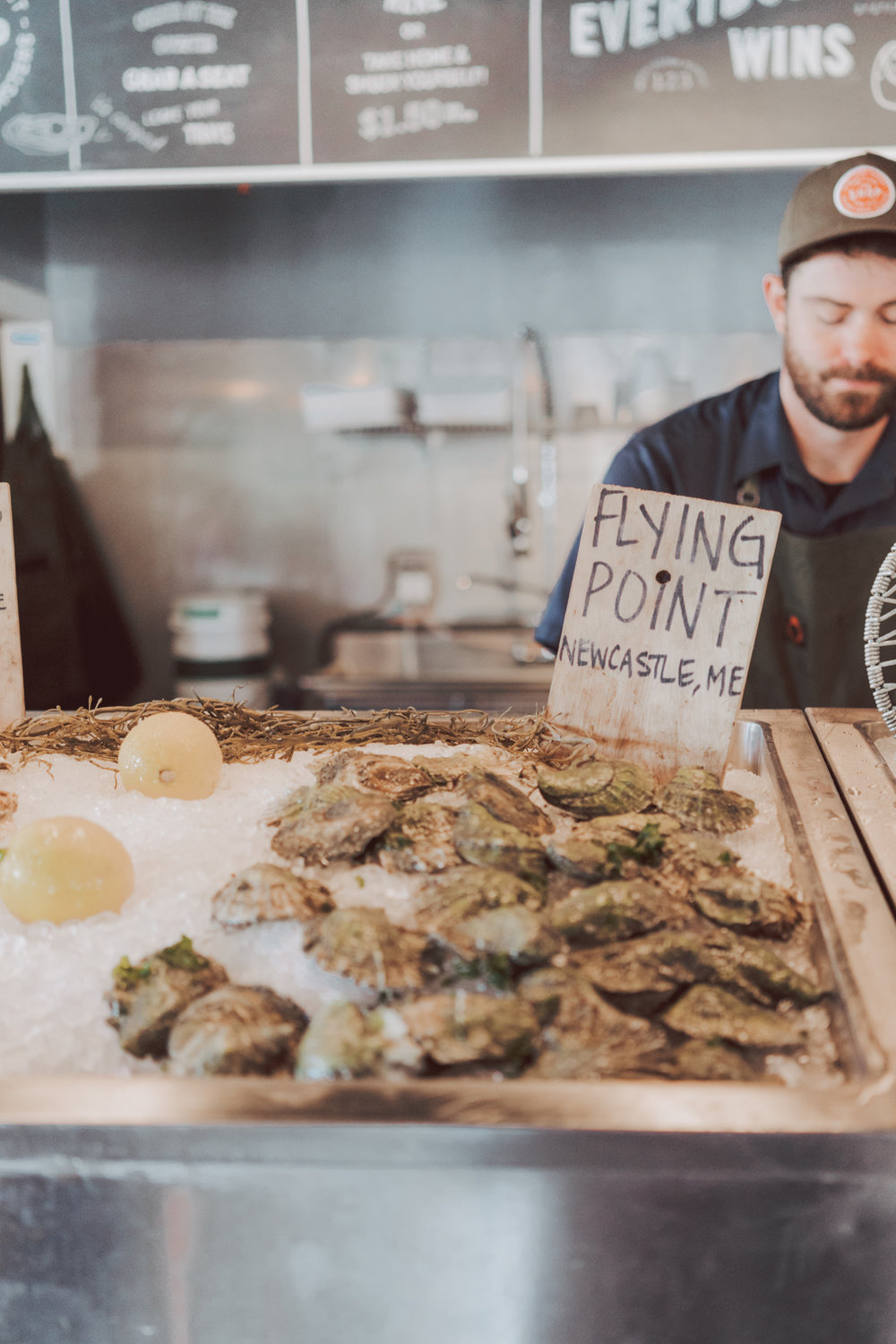 Portland Maine Fresh Seafood - Fresh Oyster and best seafood in #Portland #Maine