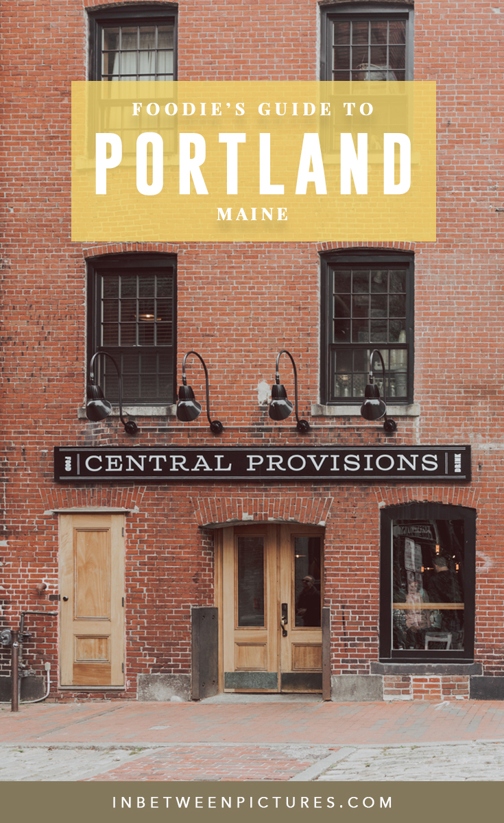 Foodie's Guide to Portland Maine - Where to eat and drink in Portland and all the best restaurants and coffee shop in #Portland #Maine