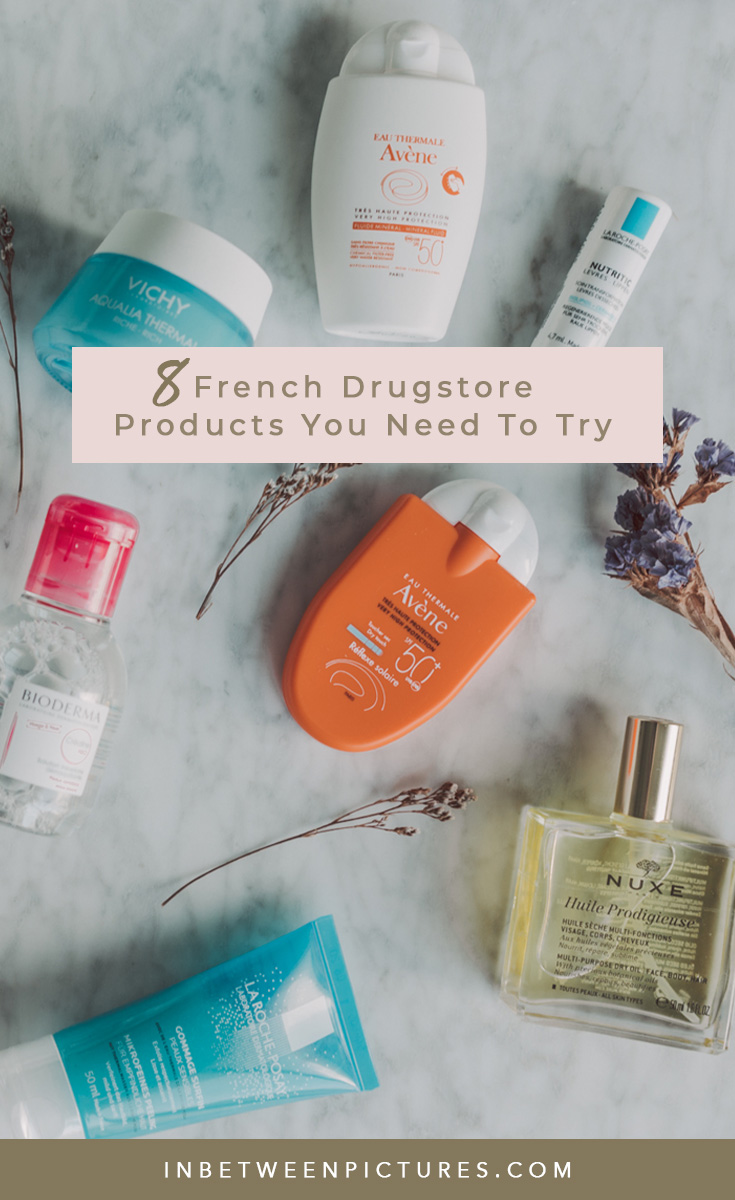 8 French Drugstore Products You'll Be Glad You Picked Up. Your guide to #FrenchSkincare that will make you skin say Oh La La!