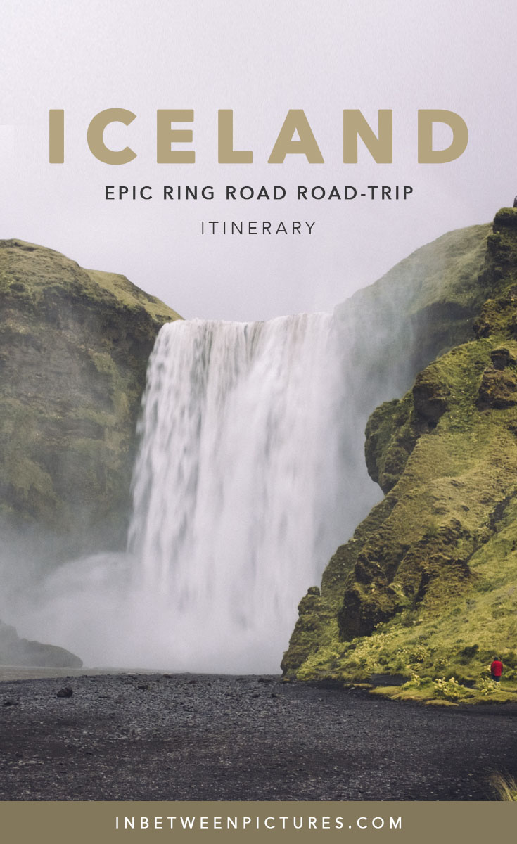 I spent 12 days with a group of photographers on a road-trip driving the entire ring road  in Iceland, roaming through the untamed nature, exploring its vast green land, chasing breathtaking waterfalls, and mesmerizing over its beaches covered in matte black sand. Driving Iceland's ring road was truly an adventure of a lifetime.If you have limited time, you can shorten this Iceland ring road itinerary  to 10 days in Iceland by skipping Heimaey island. Follow along my Iceland Ring Road Itinerary and get ready to be mesmerized #Iceland #IcelandRoadTrip #Nordic #EuropeTrip #Europe #Travel #TravelBlog