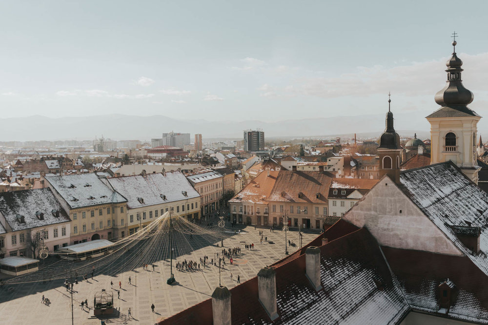 Sibiu - Best Cities To Visit On a Romania Road Trip Itinerary