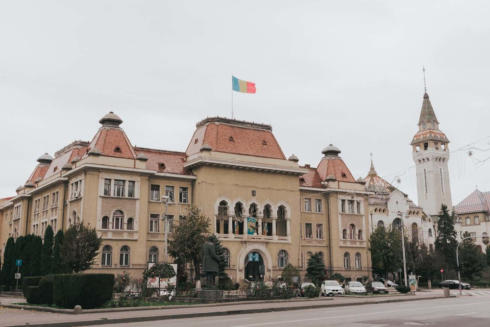 Targu Mures  - Best Cities To Visit On a Romania Road Trip Itinerary