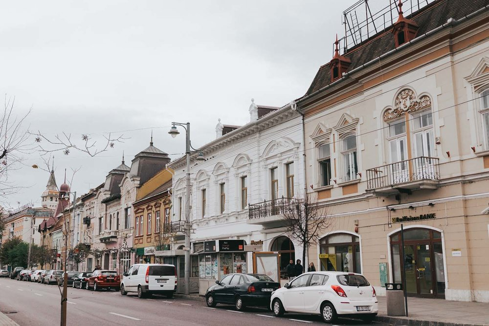 Targu Mures Transylvania - Best Cities To Visit On a Romania Road Trip Itinerary