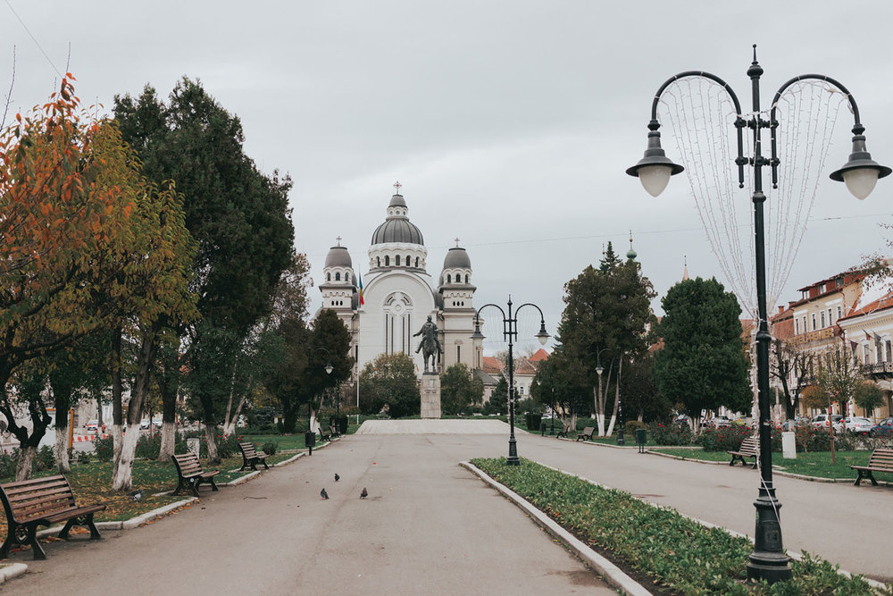 Targu Mures Roses Square - Best Cities To Visit On a Romania Road Trip Itinerary