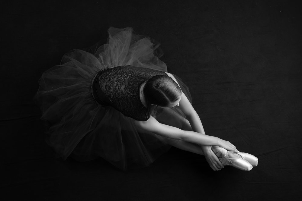 Graceful and Elegant - …it takes inner strength and dedication to pose this gracefully
