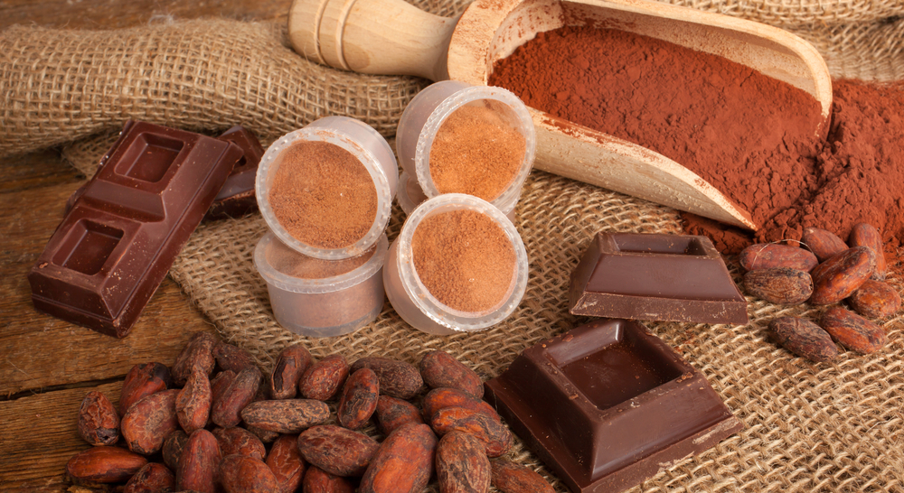 Cacao is raw chocolate – it contains no sugar, milk, preservatives or chemicals.