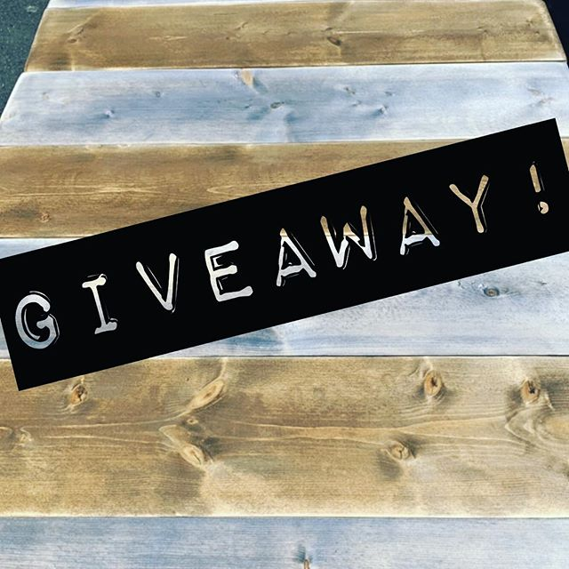 "➡️➡️GIVEAWAY!!⬅️⬅️ • • WIN a PERSONALIZED wood sign of your choice!!! • • • ➡️ How to enter ➡️ • • • 1️⃣ ""LIKE"" this photo AND @thewriteboard on INSTAGRAM • • •  2️⃣ Tag as many friends as you want in the comments. 1 tag = 1 entry • • • 3️⃣ share this post in your stories and tag @thewriteboard for an additional entry! • • • 4️⃣ GIVEAWAY ends 4/13/19 at Midnight EST. I will choose one name at random and winner will be announced in my stories within 24 hours! • • • US only. This is a personal giveaway, not associated with instagram 🤗 GOOD LUCK!!!!"