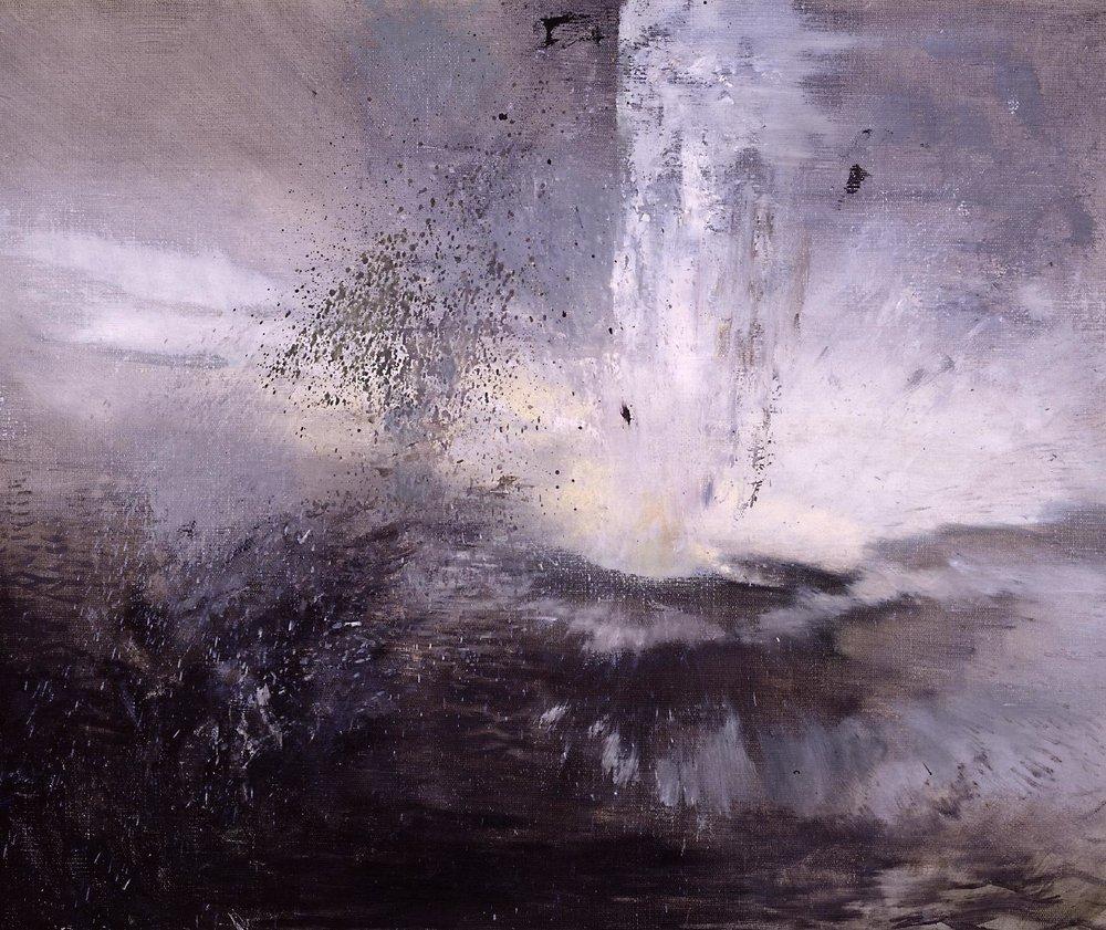 Bomb Falling into Water 1942 Leonard Rosoman, Tate Britain
