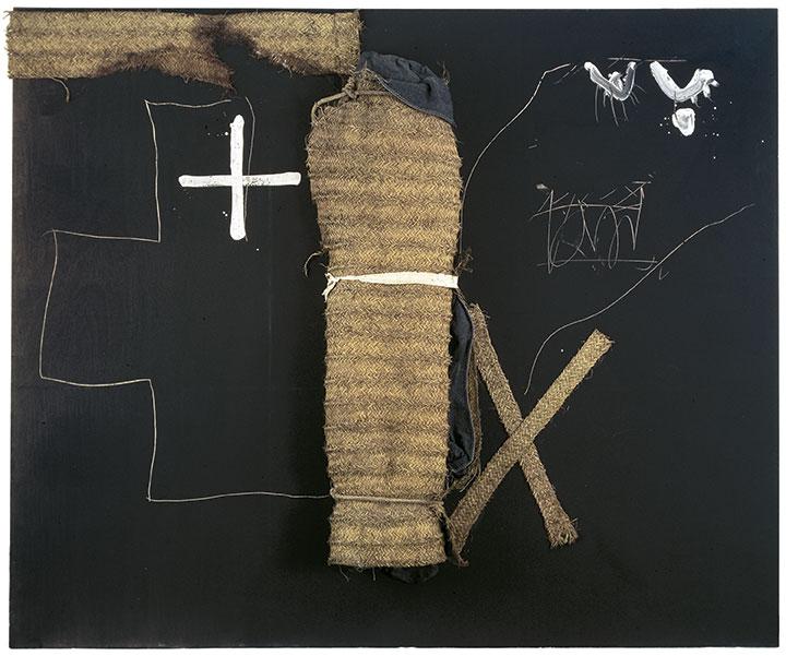 Antoni Tàpies,Matèria rosada (Pink Material), 1991. Collection Fundació Antoni Tàpies, Barcelona