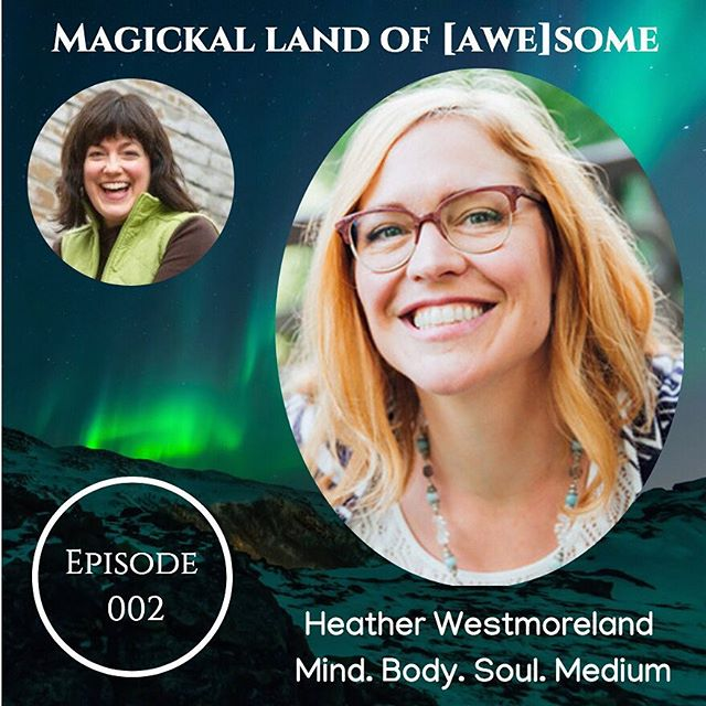 Listen to get a better sense of my work!! What an honor to be Marie's #4.  https://itunes.apple.com/us/podcast/magickal-land-of-awesome/id1435740275?mt=2
