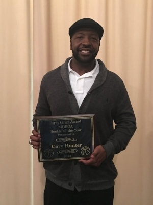 2018 Berry Grier Rookie of the Year: Corey Hunter