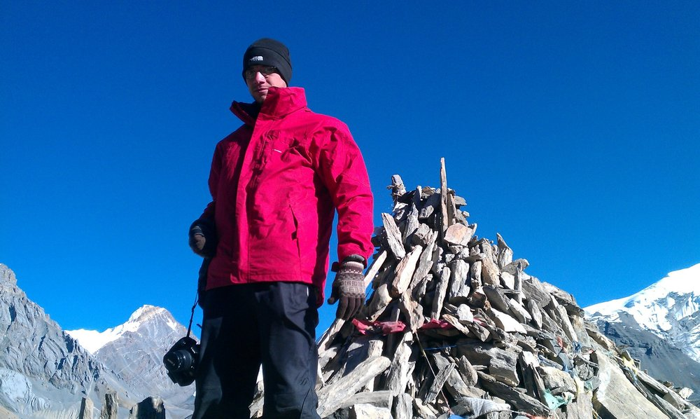 After conquering Thorung La - the highest point on the Annapurna Circuit in Nepal at 5,416m. Among the most incredible places I have ever been!