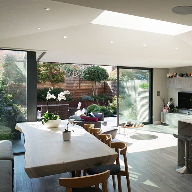 Indoor and outdoor living. Extending you house to make the most of you garden #summertime #architecture #extendyourhome #garden
