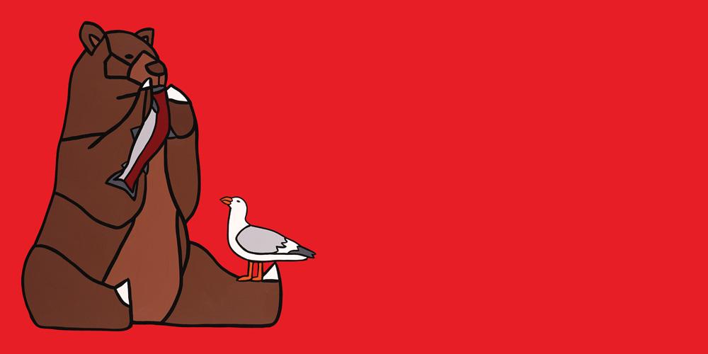 09 The Satiated Bear And A Jealous Seagull  Carter-Ryan