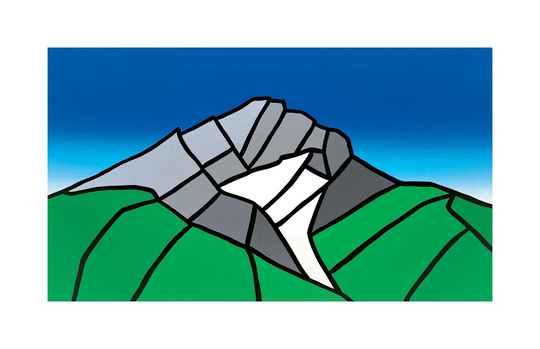 #018 Cascade Mountain, Summer  Carter-Ryan