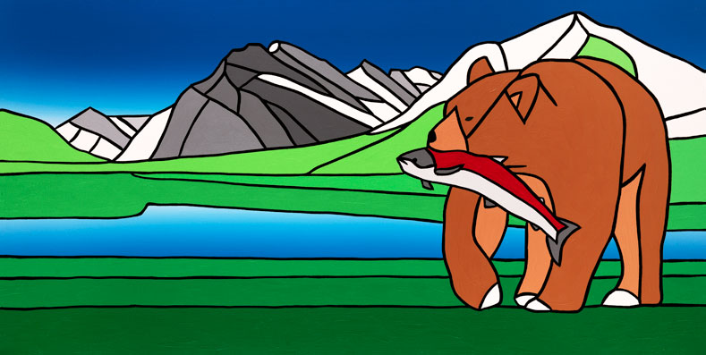 05 The Satiated Bear At Rundle  Carter-Ryan