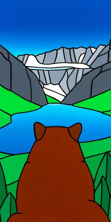 #29 The Dreaming Bear At Lake Louise  Carter-Ryan
