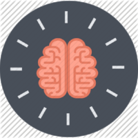 Learning design, brain icon