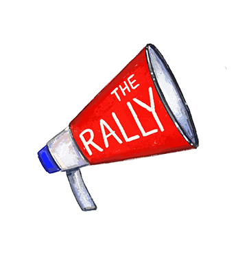 The Rally convenes 1st Thursdays of each month at 7:00pm - Hosted at Pete's Candy Store: 709 Lorimer St, Brooklyn, NY 11211.