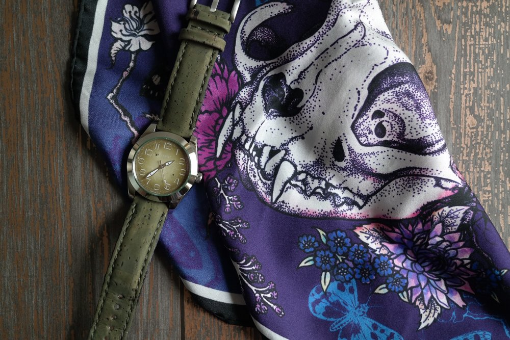 Watch by tom corneill watches. Pocket square by @beccawhodesigns.