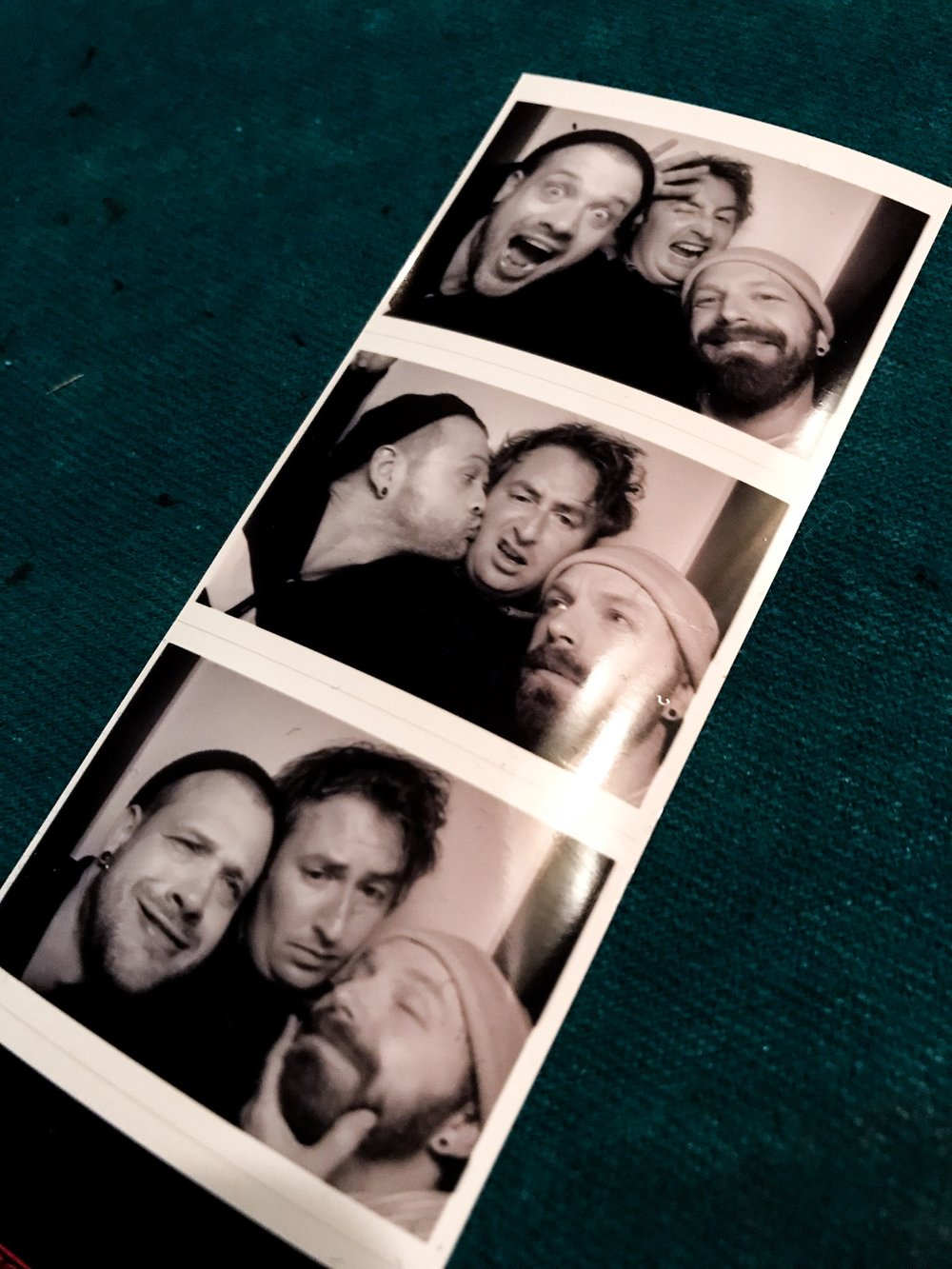 Brits in a photo booth