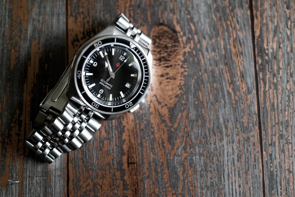 Seiko SKX007 with Dagaz modifications.