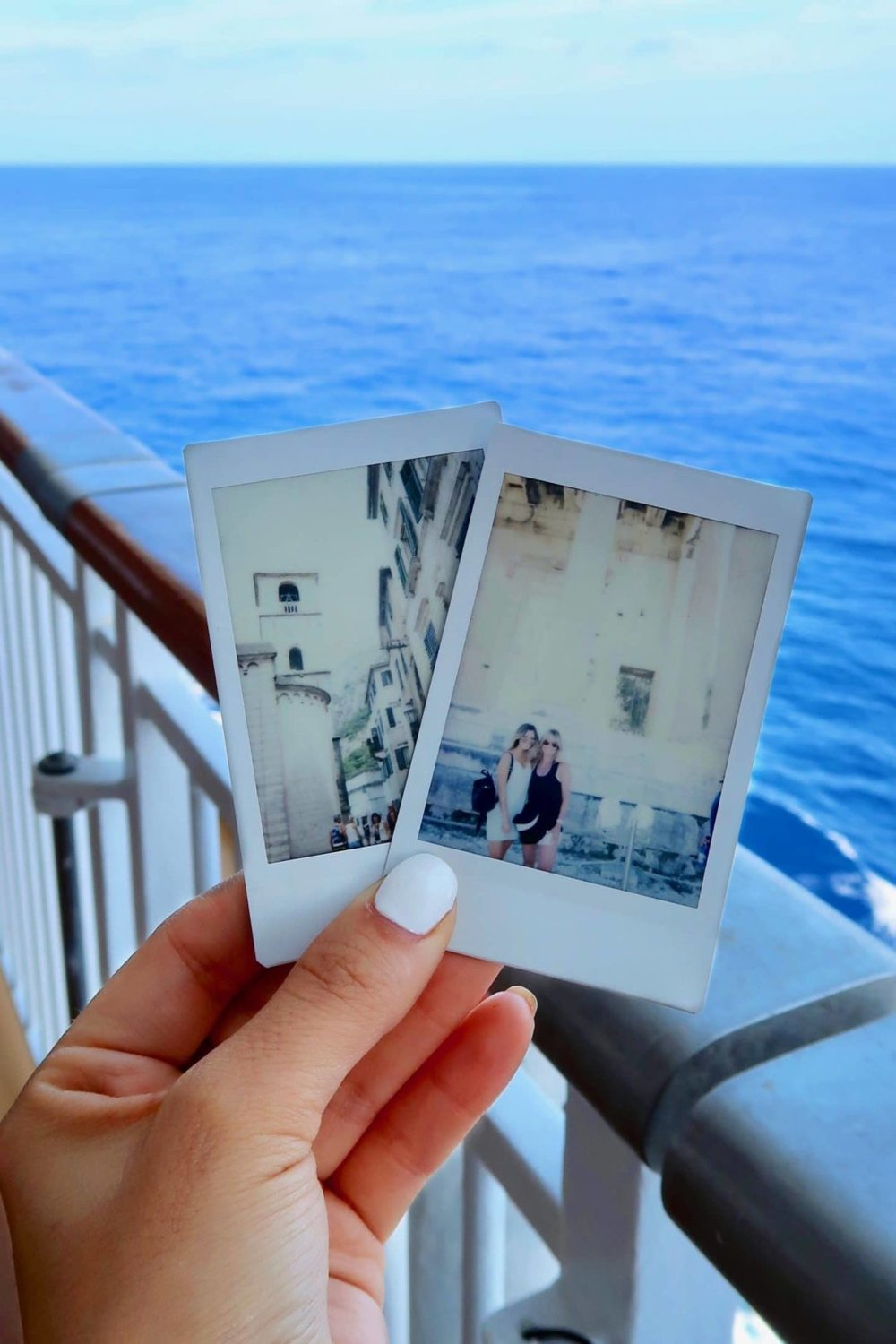 There's something about taking polaroid pictures on vacation that I absolutely cannot do without! - I've always loved capturing moments in time and having them to look back at years later. I've been taking pictures since I was a little kid and I can vividly remember always trying to steal my dad's cameras to take my own photos! When I was around 14-15, my friends and I would alwayssss do photoshoots around the neighborhood and it is HILARIOUS (and embarrassing) to look back at those pictures now!It's so easy to capture moments on a phone, or a point and shoot camera, or even a DSLR. But those are all digital and there's something so fascinating about watching a polaroid print your photo as soon as it's taken. That very specific memory is captured in a little sheet of plastic, maybe a little overexposed or a little too dark… but it's there. Yes, you can print your digital photos and have it be similar BUT it will never be the same.