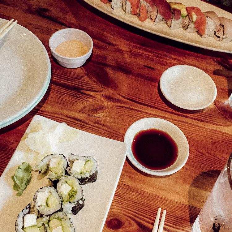 Sakana Sushi Lounge TARA MICHELLE