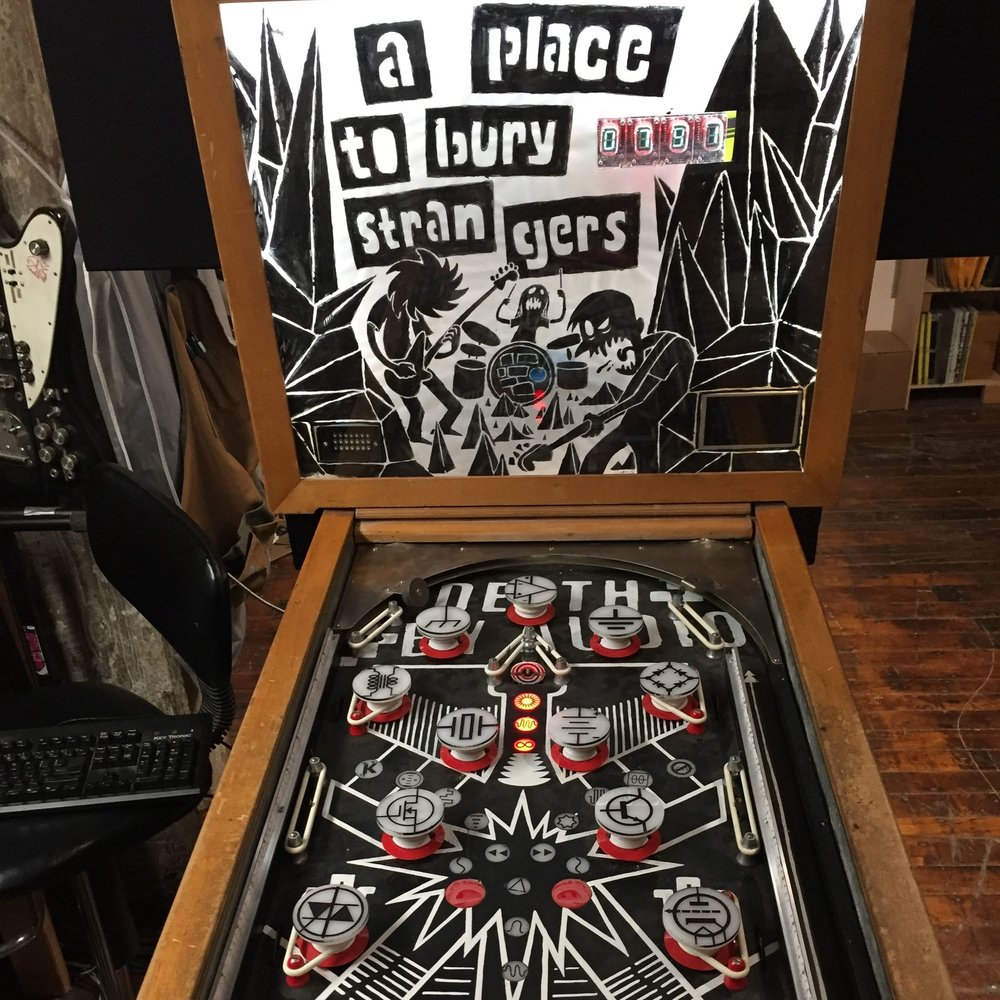 A PLACE TO BURY STRANGERS PINBALL -
