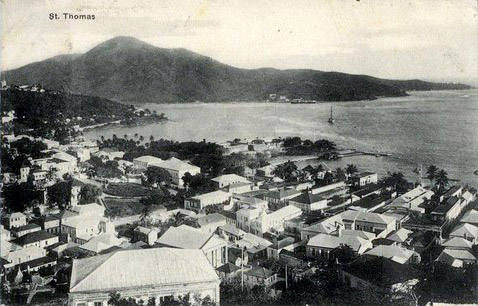 Picture of St. Thomas, courtesy of the St. Thomas Historical Trust.