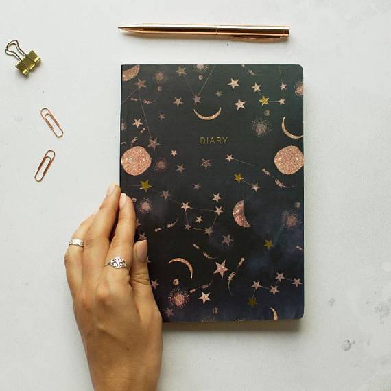 Agenda mi-année Nikki Strange en vente sur Etsy