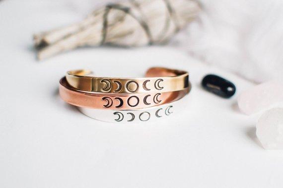 Bracelet Moon Phase ZennedOut en vente sur Etsy