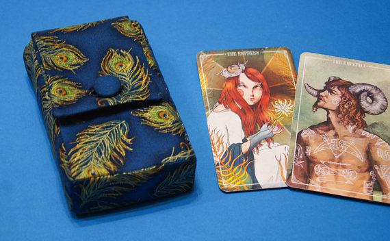 Pochette en coton pour cartes LanaBeauty en vente sur Etsy