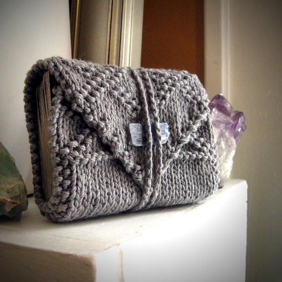 Porte cartes en laine gris MoonthrallTarot en vente sur Etsy