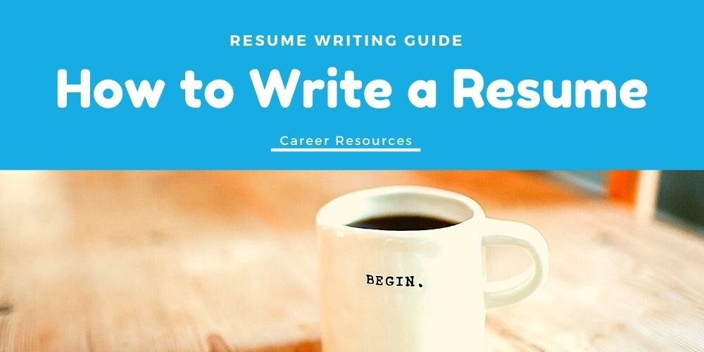 How To Write A Resume Guide 2020 Resume Trends