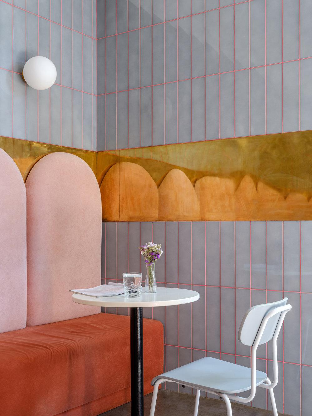 Breadway bakery Odessa Ukraine Artem Trigubchak Lera Brumina pink