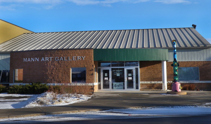 Mann Art Gallery outside
