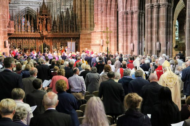 Chester Cathedral Clergy