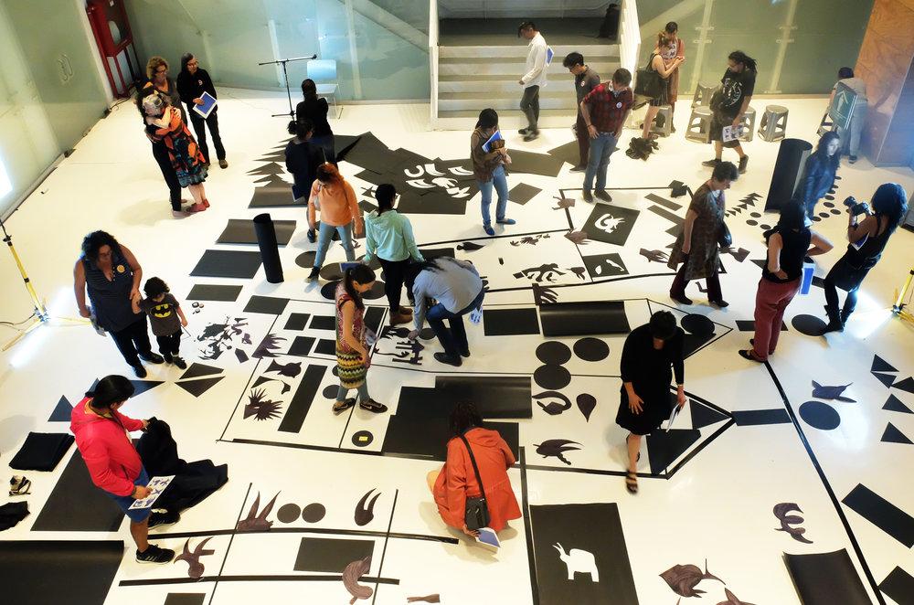LECTURA - MUSEO DEL CHOPO (2013-2018)- LABORATORIO ARTE ALAMEDA (2014)
