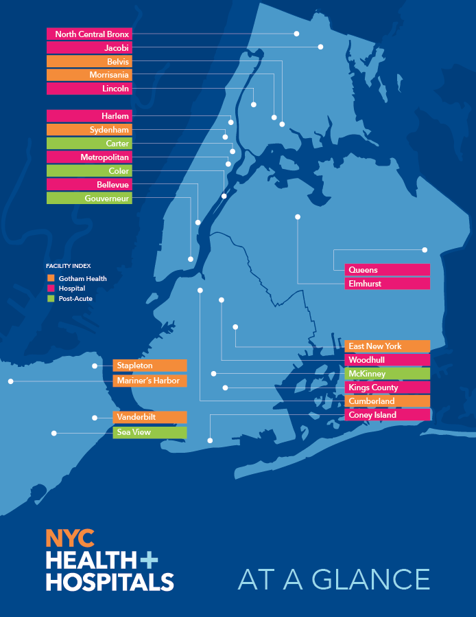 NYC Health + Hospitals at A Glance