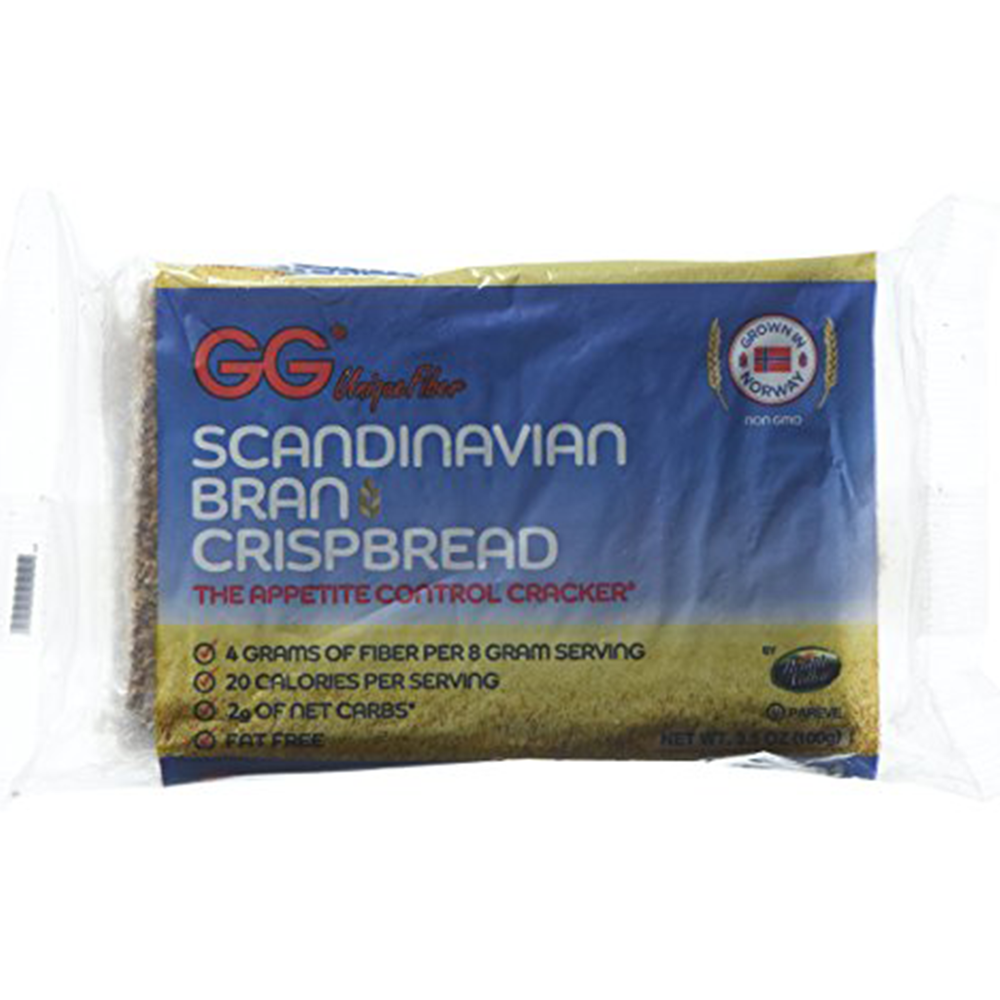 Health Valley Crispbread GG Bran, Pack of 10 - $36.99