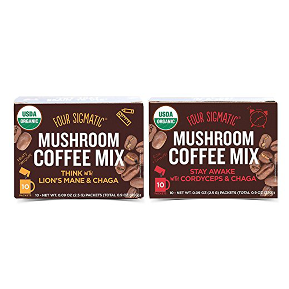 Four Sigmatic Mushroom Coffee Mix Pack of 2 - $29.99