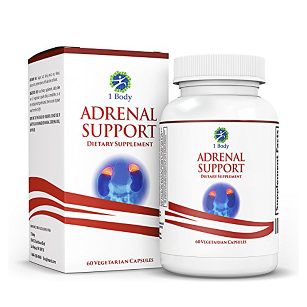 Adrenal Support cortisol manager — Vegetarian - $24.97