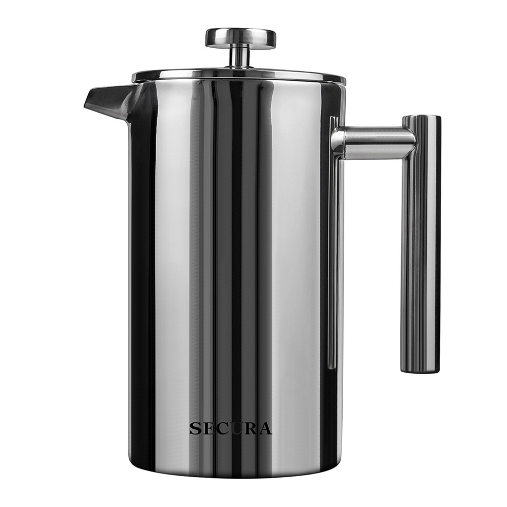 Secura Stainless Steel French press Coffee Maker - $24.99