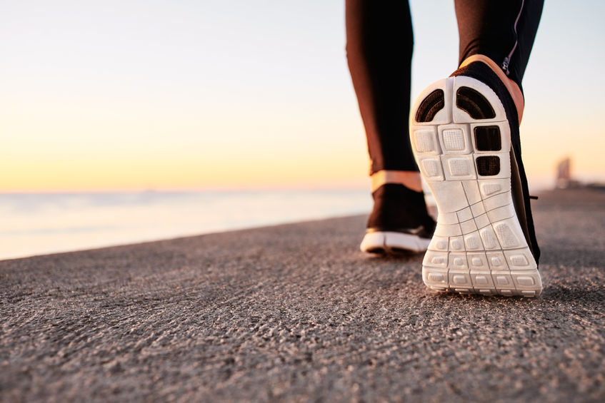 sneakers steps walking activity 10,000 steps a day